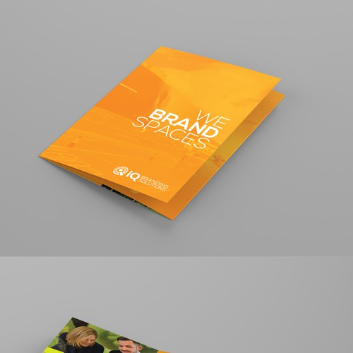 Bold, fresh design & clever format needed for IQ Brand Solutions