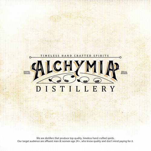 Logo for Alchymia Distillery