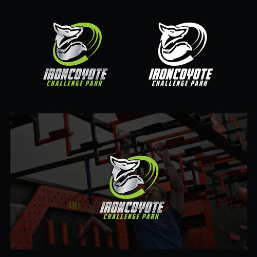 IRONCOYOTE Logo design