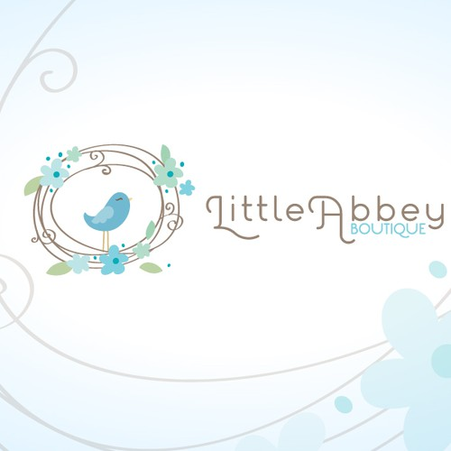 logo for Little Abbey Boutique