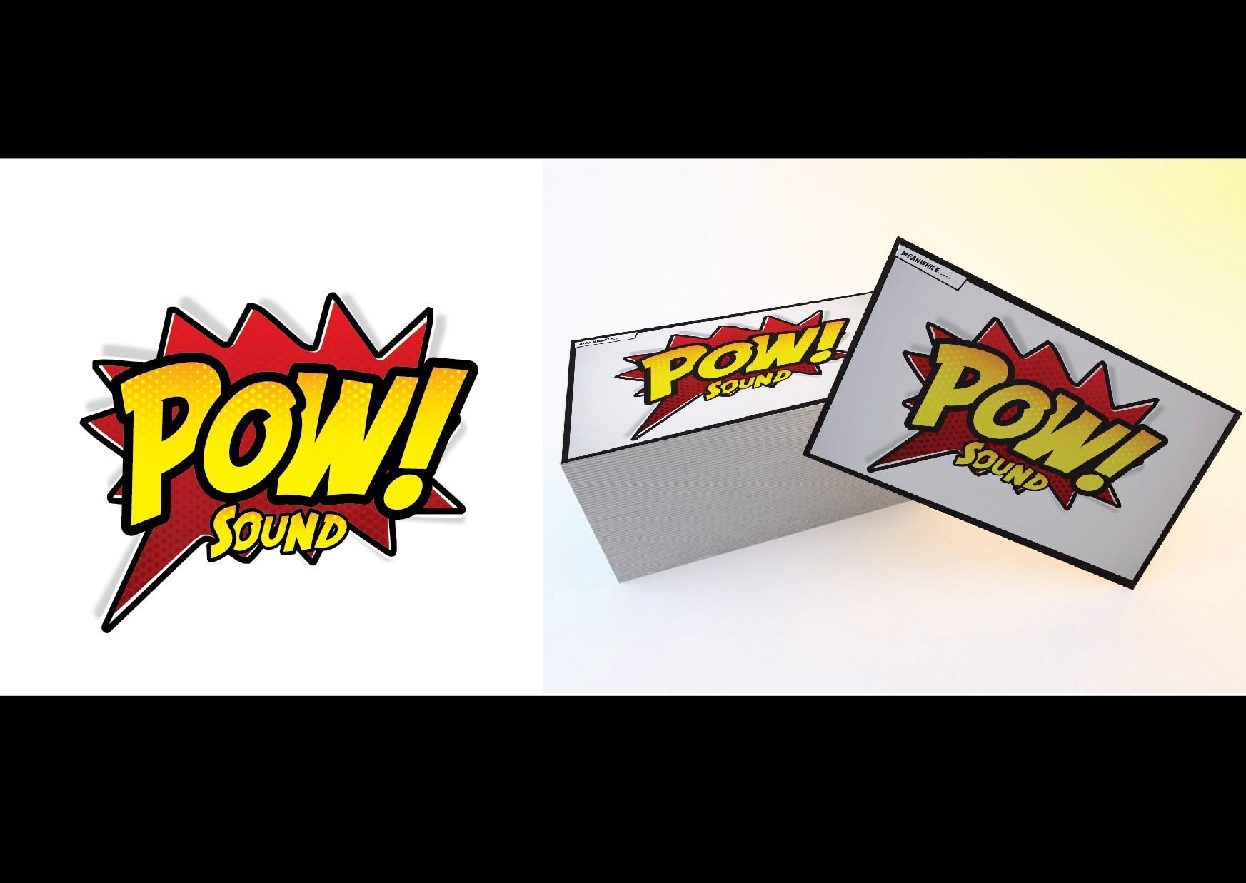 POW! Sound needs a new logo