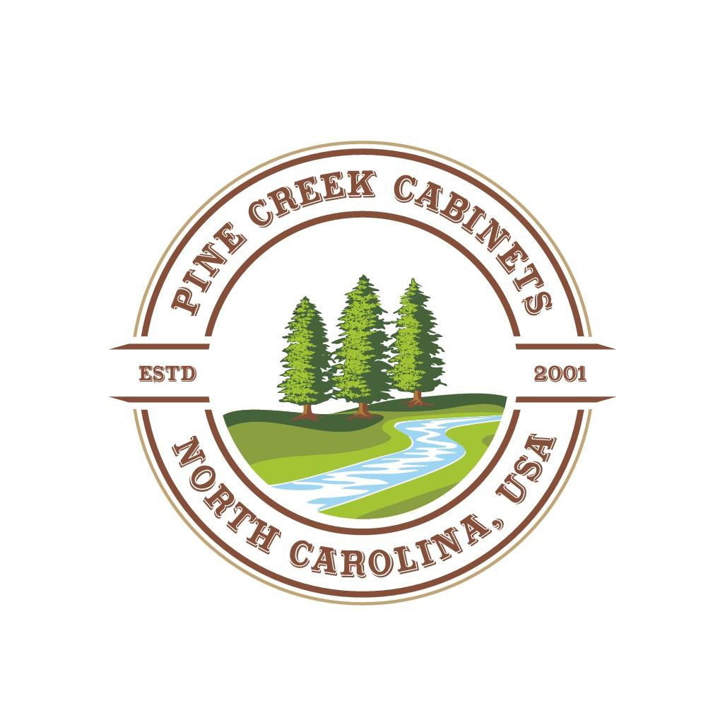 Create Updated Brand Image for Pine Creek Cabinets - Custom BtoB woodworking & Cabinet manufacturer