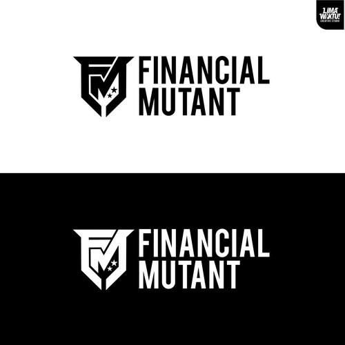 monogram logo for Financial Mutant
