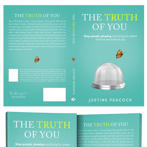 The Truth of You Book Cover Design