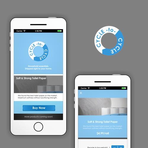 High-Class Brand Design for iPhone App