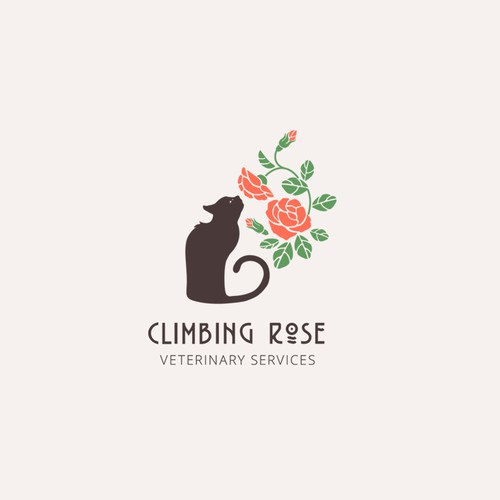 Logo concept for veterinary service