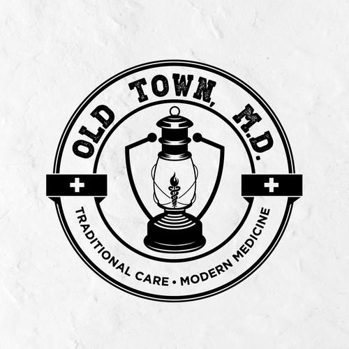Logo design for a physician