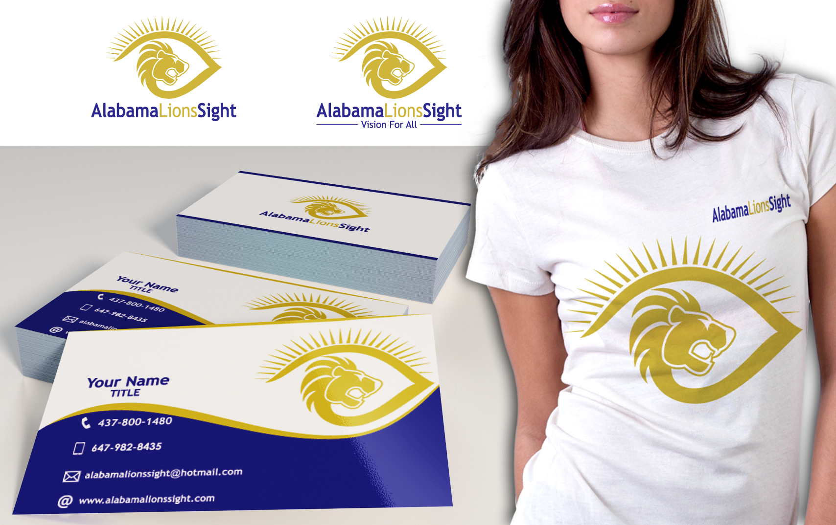 Create a logo that captures a nonprofit's mission of sight restoration, research and education