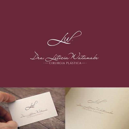 logo concept for Leticia Watanabe