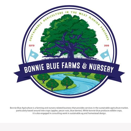 Logo for Bonnie Blue Farms and Nursery