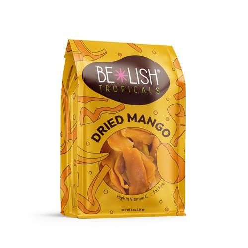 BE-LISH TROPICALS Dried Mango