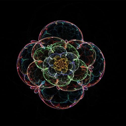 fractal art- flower