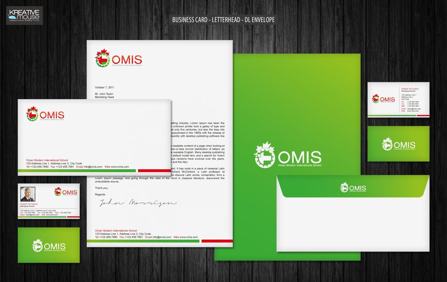 Oman Modern International School (OMIS) needs a new stationery