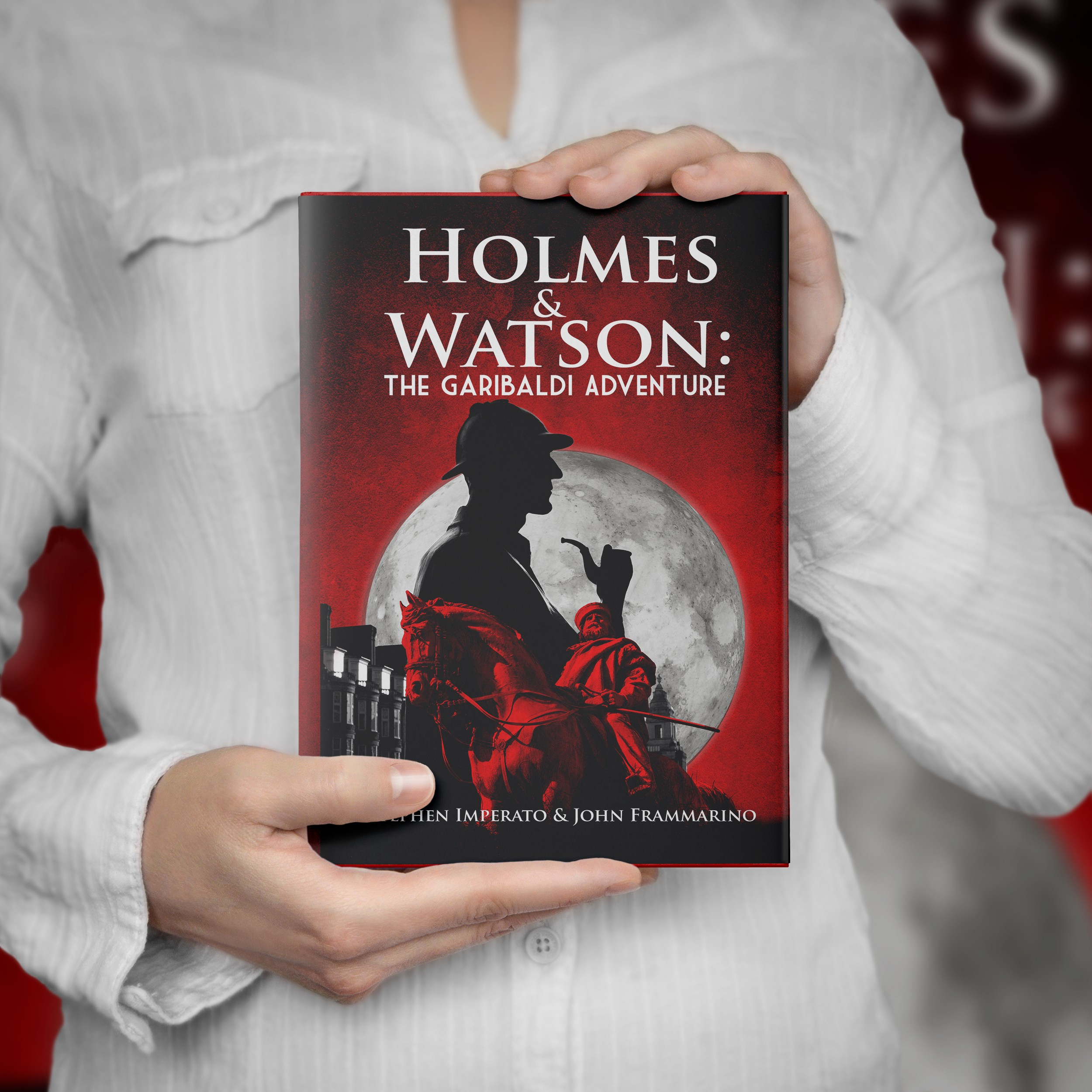 Dynamic Cover Image for Sherlock Holmes Action Adventure book
