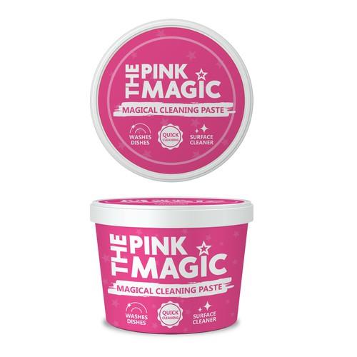 The Pink Magic label