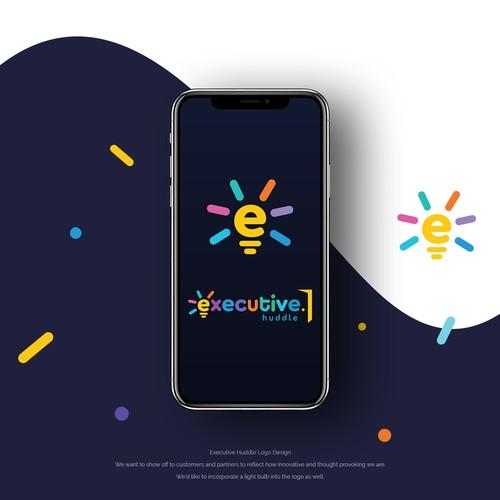 Executive Huddle Logo Design.