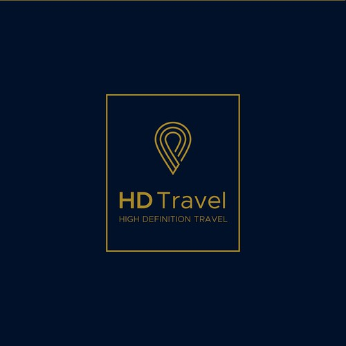 Classy logo for Croatian travel agent