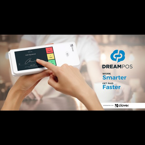 Digital marketing banner for DreamPOS