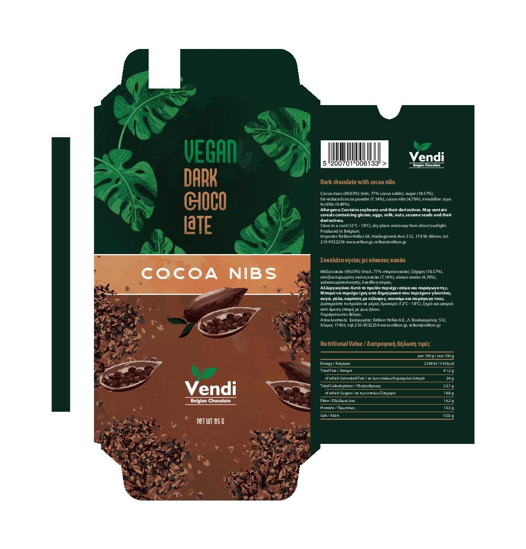 Vegan Chocolate Tablets