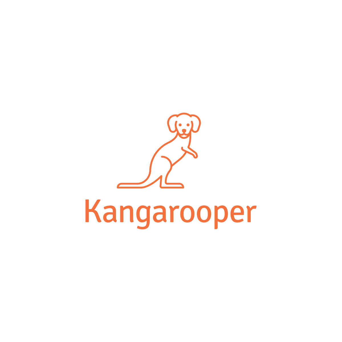 """""""Kangarooper"""" Logo for My Open Source Software Projects"""
