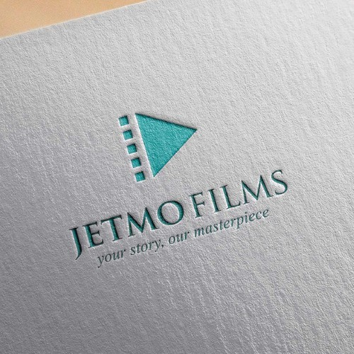 Simply logo for film maker.