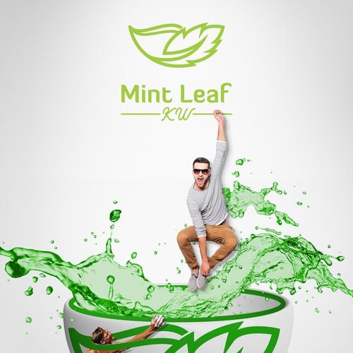 Mint Leaf KW logo