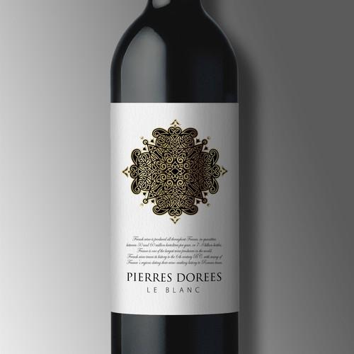 Wine Label for PIERRES DOREES