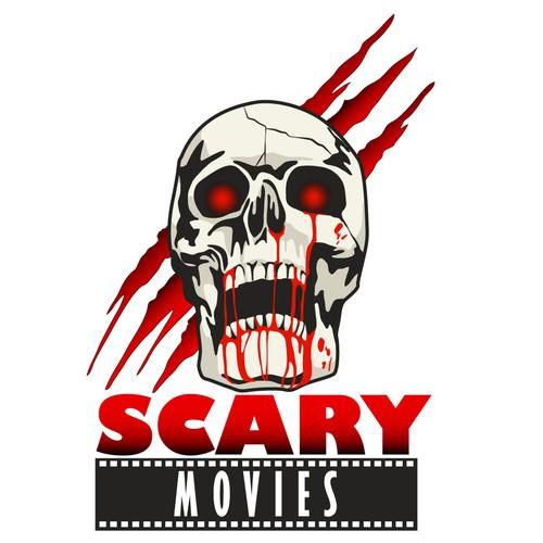 Scary logo concept.