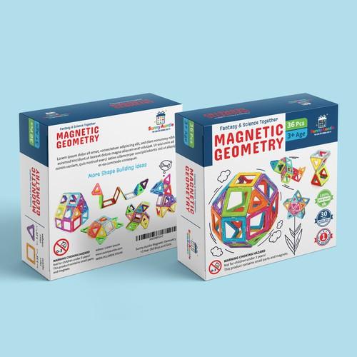 Packaging Design - Magnetick blocks
