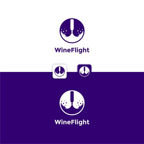 Logo for Wine Flight