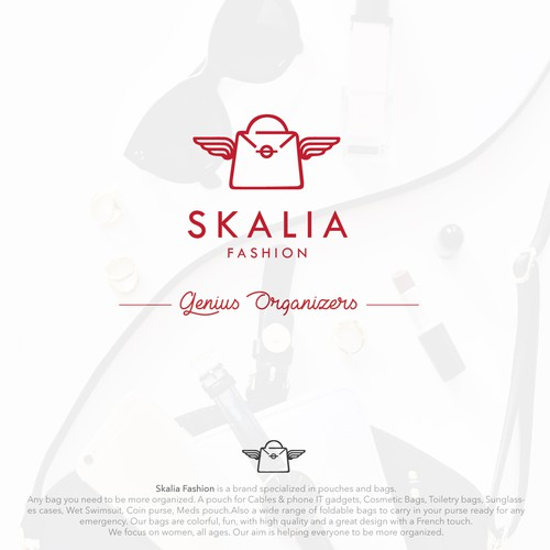 Logo Skalia- Handbag organizers