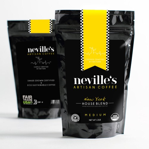 product label for Neville's