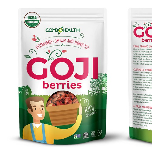 Combo Health Goji Berries