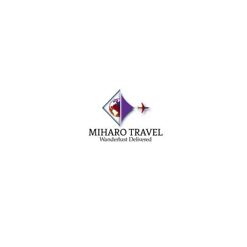 Logo Ganador Concurso MIHARO TRAVEL