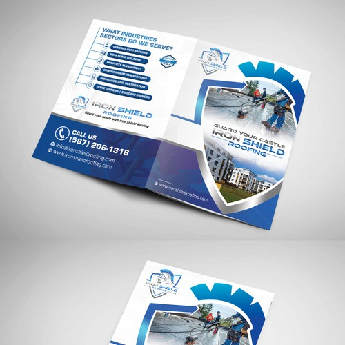 Roofing brochure