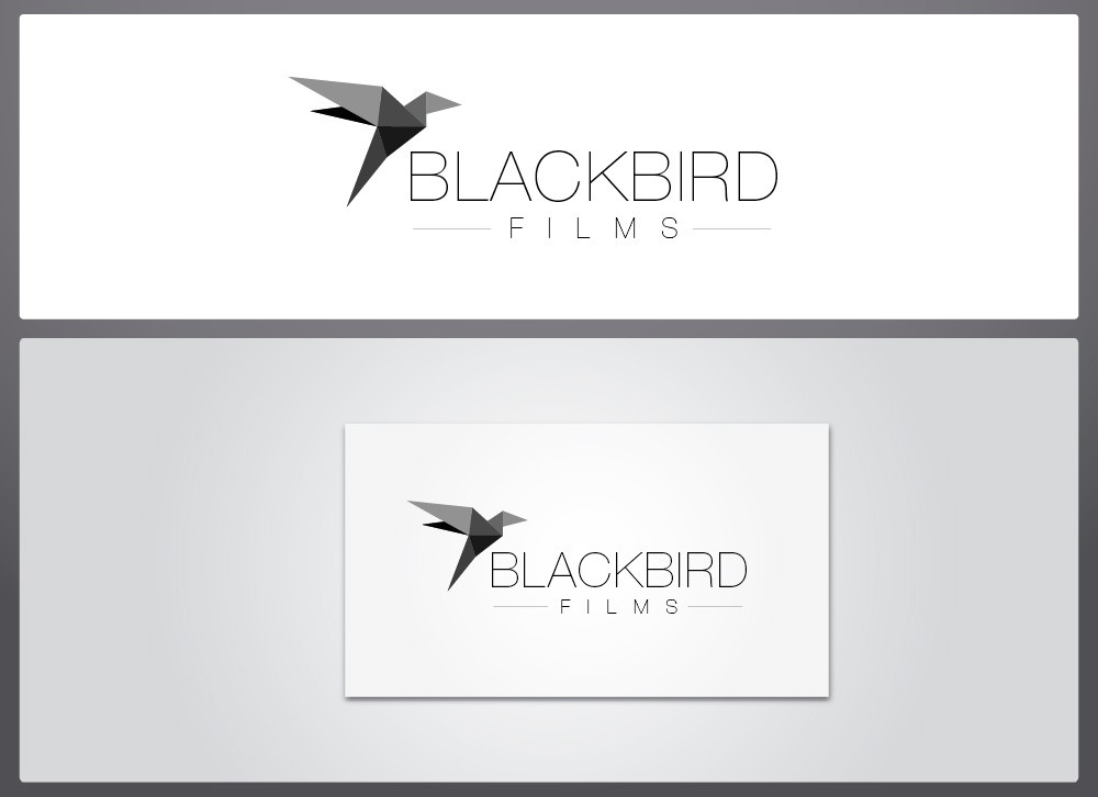 We're looking for a new CLASSIC MODERNIST LOGO for Blackbird Films! Would LOVE to see your entries.