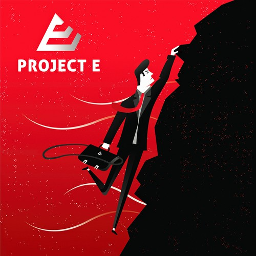 Podcast cover design for Project E