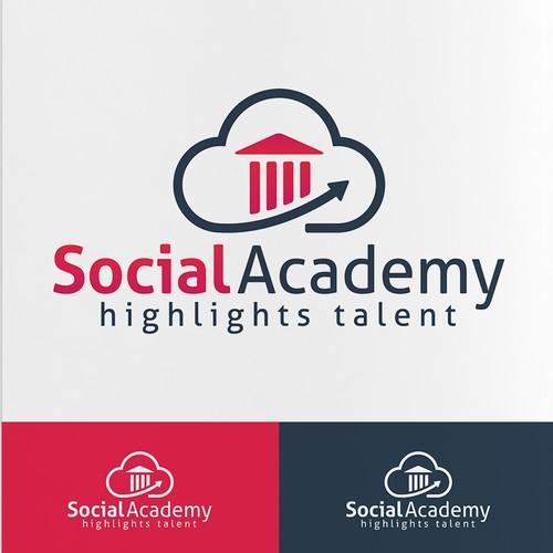 Logo for a Social Academy