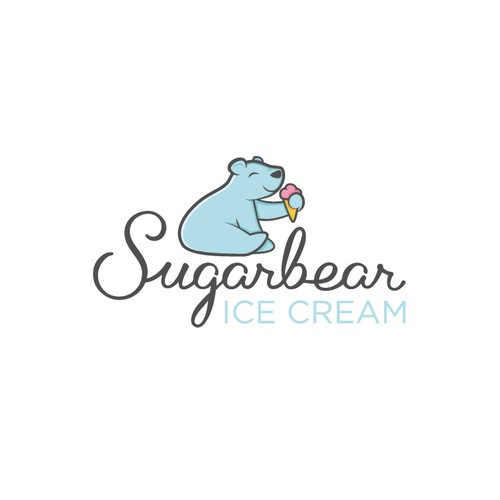 Polar bear ice cream