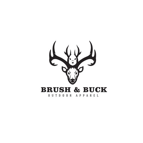 "Logo design for ""Brush & Buck"""