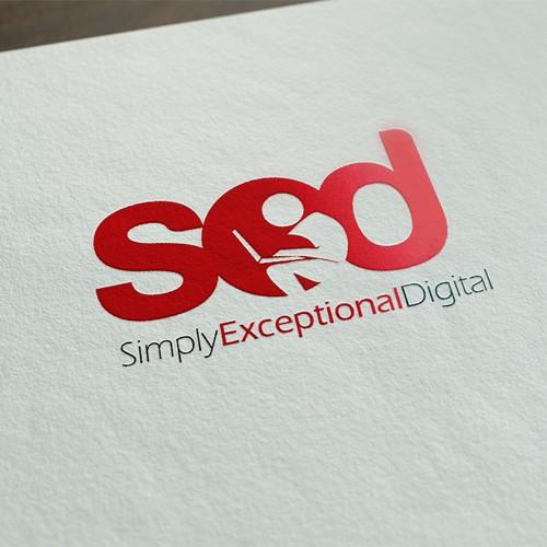 Dynamic Modern Fresh Logo for Digital Marketing Agency
