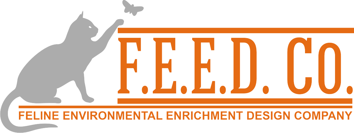FEED Co. Company Logo Design- On a mission to improve the wellbeing of all indoor cats!