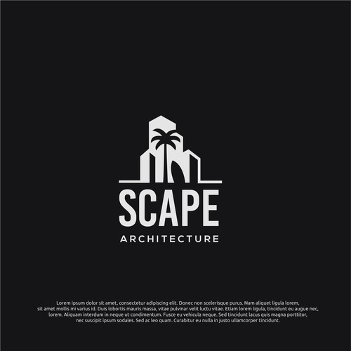 logo concept for scape
