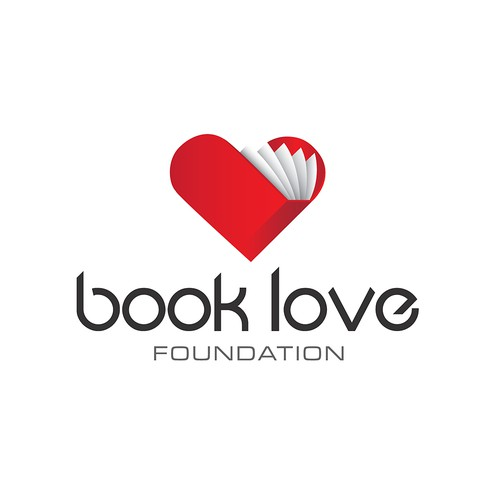 Help Book Love Foundation or The Book Love Foundation with a new logo
