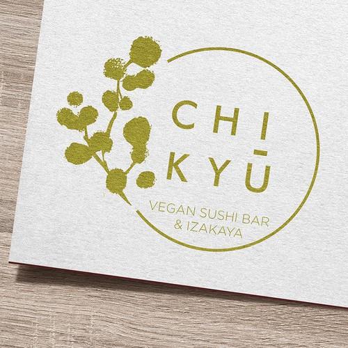Logo design for a new vegan sushi joint
