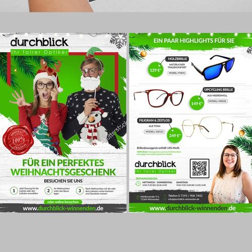 Front and Back Flyer design