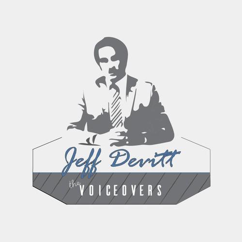Jedd Devitt VoiceOvers logo concept