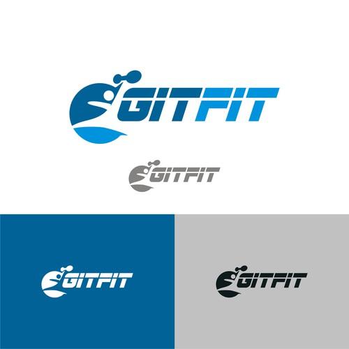 Logo concept for GitFit