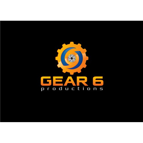 Create a design for a Los Angeles Production company, Gear 6 Productions
