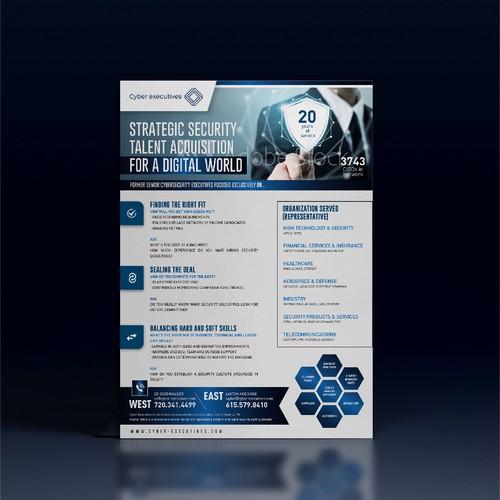 Online Security Flyer